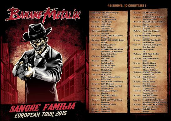 Sangre Familia Tour